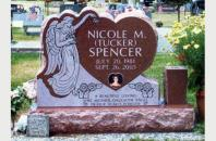 Single Grave Monument for Nicole Spencer 201720